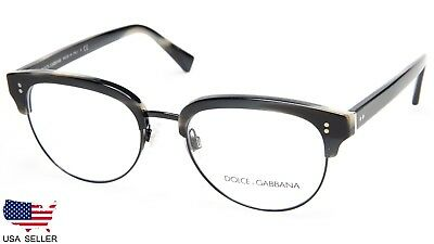 cf37c26bc0 NEW D G Dolce   Gabbana DG3270 3117 STRIPED BLUE BLACK EYEGLASSES  52-19-145Italy