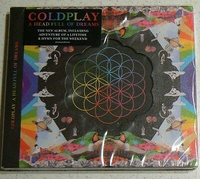 A Head Full Of Dreams - Coldplay  (Cd)  Neuf Scelle