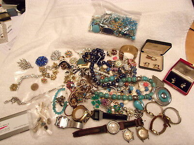 Huge Jewelry/Watch Lot - Over 4.5 pounds