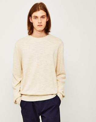 ccfb9863b6df87 YMC SUEDEHEAD BRUSHED Knit Crew Neck Mens Jumper Sweater Size Xl ...