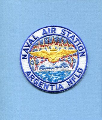NAS NAVAL AIR STATION ARGENTIA NEWFOUNDLAND US Navy Base Squadron Jacket Patch