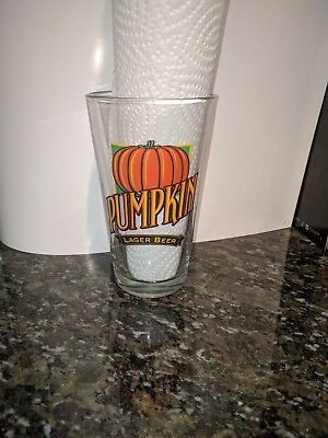 Lakefront Brewery Pumpkin Lager Pint Glass Milwaukee Wisconsin Beer