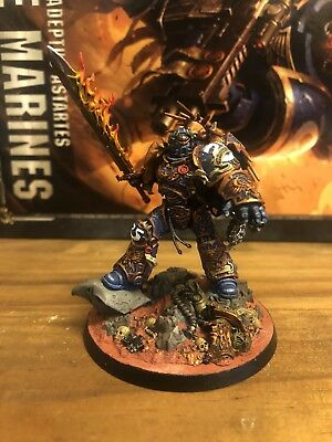 Warhammer 40,000 Space Marines Ultramarines Roboute Guilliman Well Painted