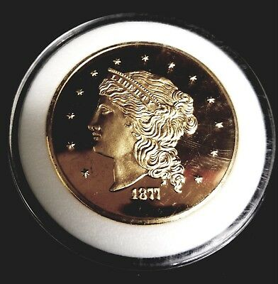1877 U.S. FIFTY DOLLAR GOLD COIN, 51mm SIZE REPRODUCTION COIN,COPY