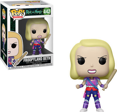 Funko Pop! Animation: - Rick & Morty - Froopyland Beth (Toy Used Very Good)