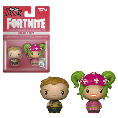Fortnite S1a - Ranger & Zoey - Funko Pint Size Heroes: (2018, Toy NUEVO)
