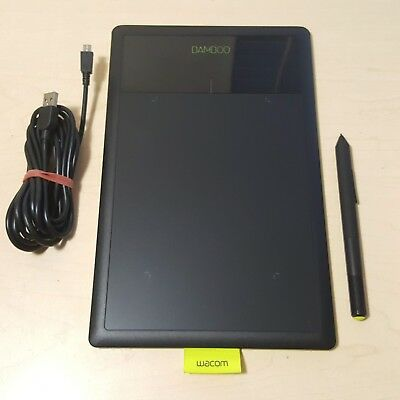 Wacom Bamboo Pen CTL-470 Drawing Tablet - with Pen and USB cable