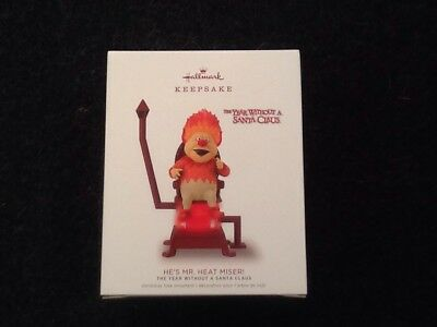 Hallmark Keepsake Ornament He's Mr. Heat Miser 2018 New