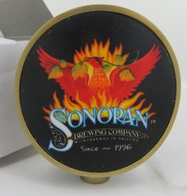 SONORAN BREWING Company LIGHTED Phoenix Arizona BEER TAP HANDLE closed brewery