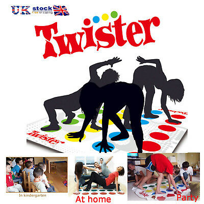 Funny Twister The Classic Family Kids Friends Party Body Game With 2 More Moves