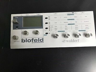 Waldorf Blofeld,  Desktop Synthesizer License-SL Sample Edition +3 Soundsets