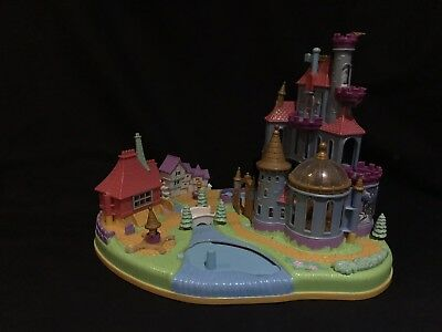 polly pocket 1997 DISNEY Beauty and The Beast Castle No Figures