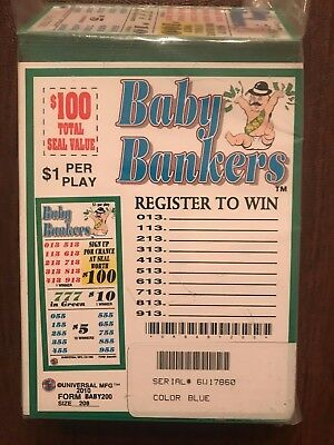 """""""Baby Bankers"""" 5 Window  - 208 Tickets - Total Payout: $160  MADE IN THE USA"""