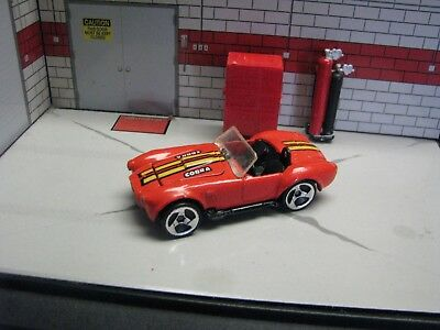 Hot Wheels Collector# 31, Loose Red Classic Cobra, 1:64 Diecast Toy Car