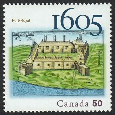 400 Years of FRENCH SETTLEMENT = 2nd stamp of 5 year set = MNH Canada 2005 #2115