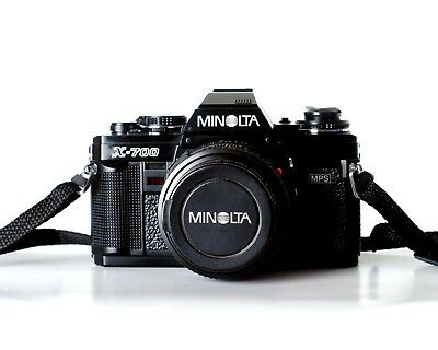 Minolta X700 Camera w/ 50mm F1.7 MD Lens TESTED EXCELLENT