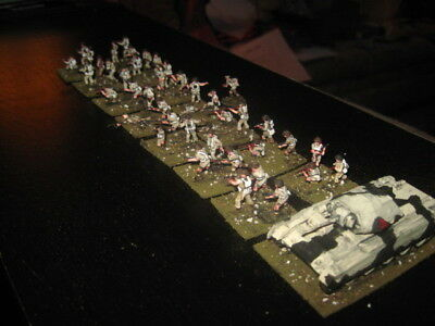 43 Painted 1/72 - WWII British 8th Army Infantry & Command w NICE Crusader Tank
