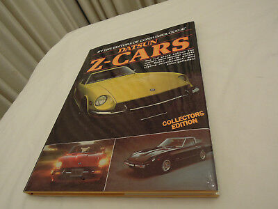 Datsun Z-Cars Collectors Edition Book Vintage 1980s Ships from USA Free Shipping