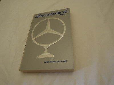 The Mercedes-Benz Story Book by Louis William Steinwedel Very Clean Ships Free