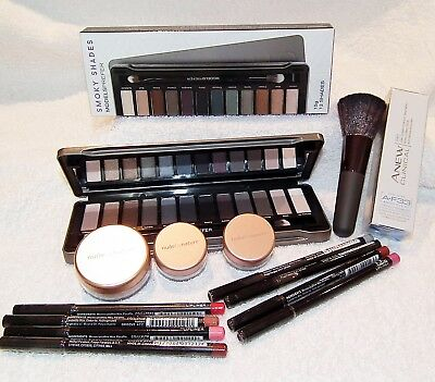 Bulk mixed makeup pack eyeshadow brush mineral foundation liners bronzer