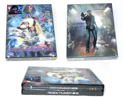 Ready Player One HDZeta 4K UHD Blu ray Steelbook Single Lenicular MINT