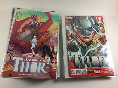 Thor (2014) 1-8 Complete & Mighty Thor (2016) #1-23 700-706 Full Runs NM
