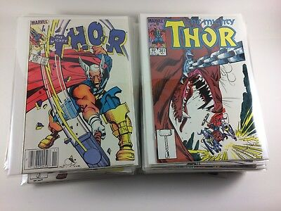 Thor #337-382 Complete Walt Simonson Run Every Issue High Grade Great Reads! CPV