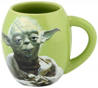 Star Wars Yoda 18 oz. Oval Character Mug