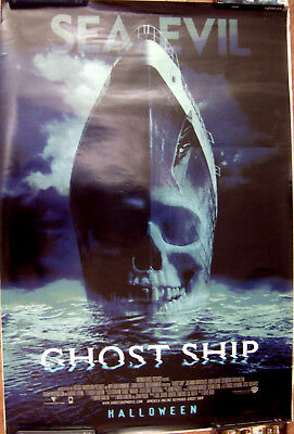 "Ghost Ship 27"" X 40""  One Sheet Original Movie Poster Made In 2002"