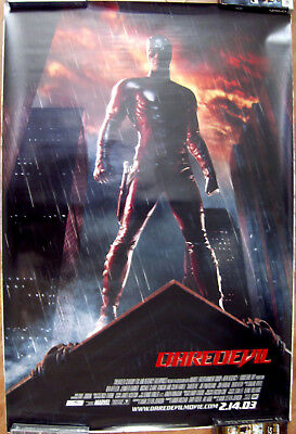 "Daredevil 27"" X 40""  One Sheet Original Movie Poster Made In 2003"