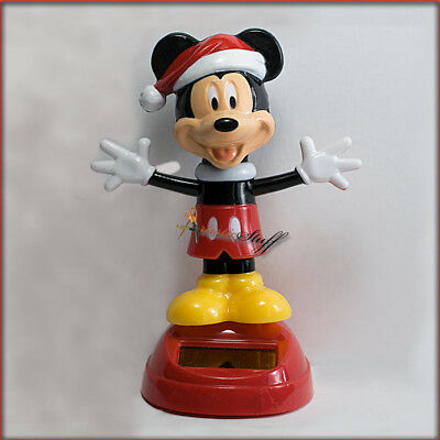 DISNEY MICKEY & MINNIE MOUSE SOLAR POWERED BOBBLE HEADS. FREE Shipping