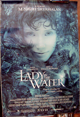 "Lady In The Water 27"" X 40""  One Sheet Original Movie Poster Made In 2006"