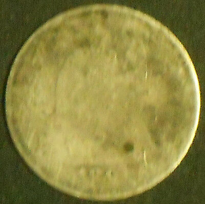 1891-P Silver Seated Liberty Dime. Free Shipping!!!!!!!!!!!!!!!!