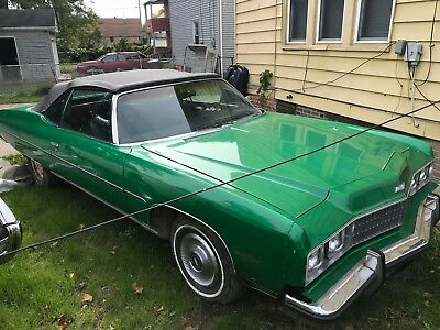 1973 Chevrolet Caprice convertible classic cars