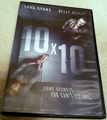 10 x 10 10x10 UNRATED DVD Luke Evans Kelly Reilly Kidnapping Revenge Thriller