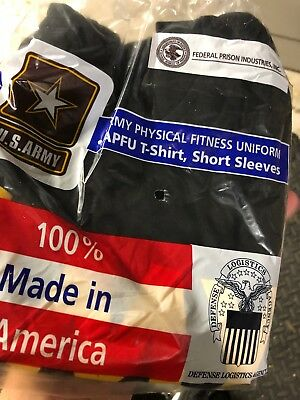 US ARMY, APFU T-shirt, short sleeves, size Large. New in bag