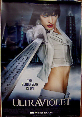"Ultraviolet 27"" X 40"" One Sheet Original Movie Poster Made In 2006"