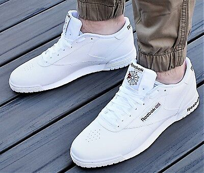4294fbe2a170 New Reebok Classic Exofit Lo Clean Logo Int Men s Tennis Lifestyle Shoes  White