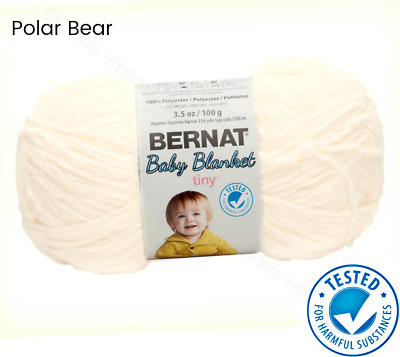 NEW - BERNAT Baby Yarn - 3 Skeins of one color - $12 74 | PicClick