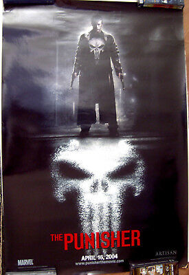"The Punisher 27"" X 40"" One Sheet Original Movie Poster Made  2004"