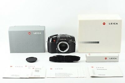 【 Top Mint in BOX 】 LEICA R8 BLACK SLR 35mm Film Camera From Japan #2079