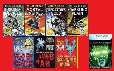 """""""Mortal Engines"""" Complete 8-Book Series by Philip Reeve **Electronic Books**"""