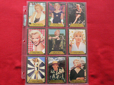 20 Large colour photos of Marilyn Monroe, 2nd series, Trade cards.