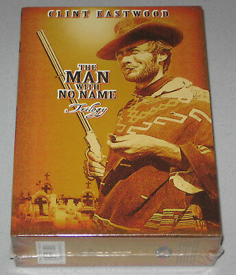 The Man with No Name Trilogy - Gift Set (DVD, 1999, 3-Disc Set) CLINT EASTWOOD