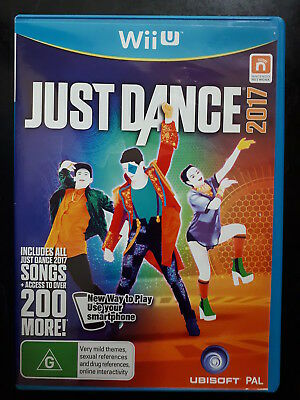 LIKE NEW, Just Dance 2017, Wii U Game