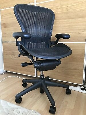 Herman Miller Aeron Computer Chair Size B - Excellent Condition - Local Delivery