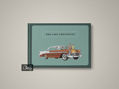 1956 Chevrolet Showroom Album / Book ~150 pages / Bel Air, Two-Ten, One-Fifty
