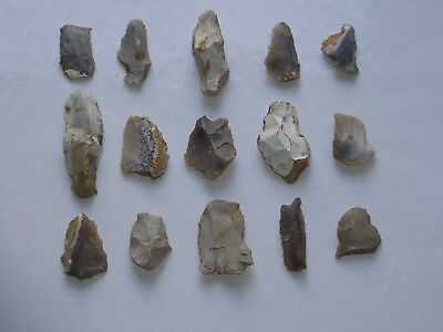 Mesolithic / Neolithic flint tools 4000 - 5000 BC - Wiltshire, England