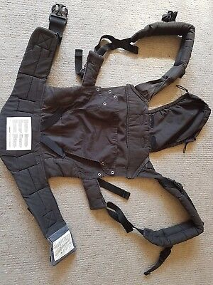 Manduca Baby Carrier, Black & Grey, Excellent Used Condition