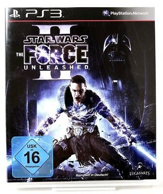 PS3 Spiel • Star Wars - The Force Unleashed II • Guter Zustand